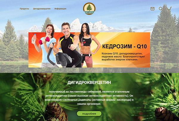 Разработка интернет-магазина Сиблар